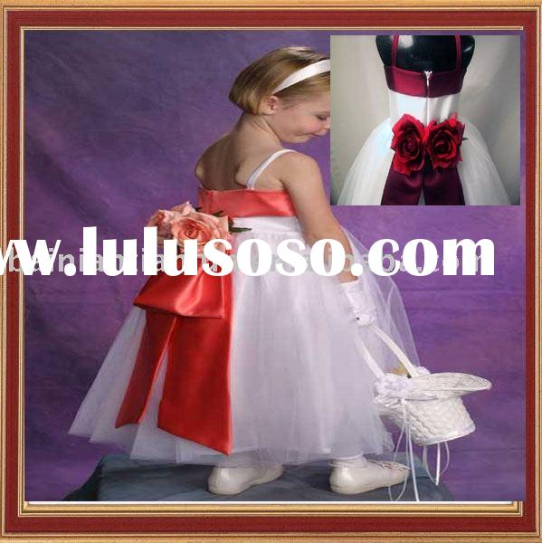 2012 newest style little queen party dress FL002