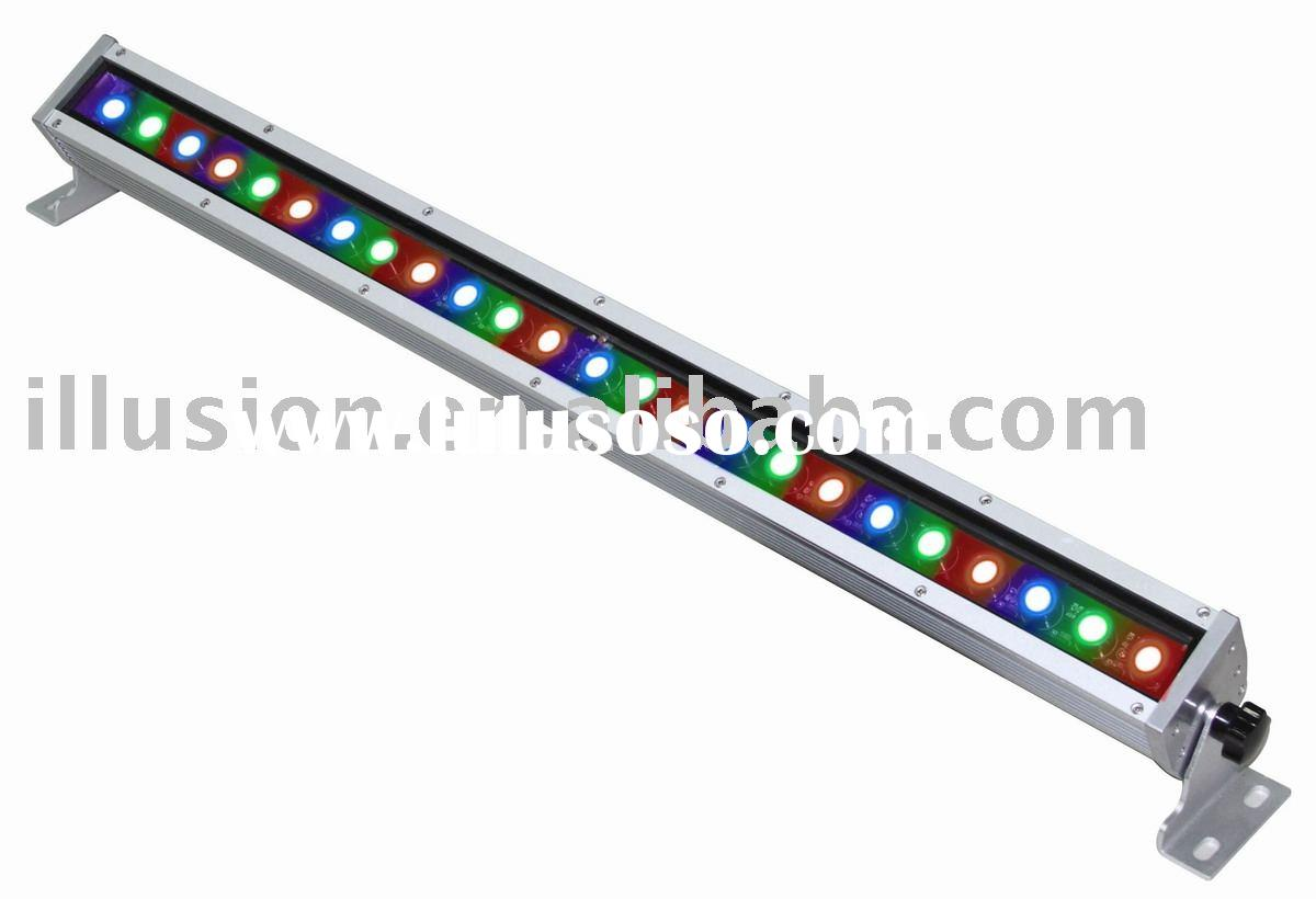 24LED One-row RGB Color LED Wall Washers
