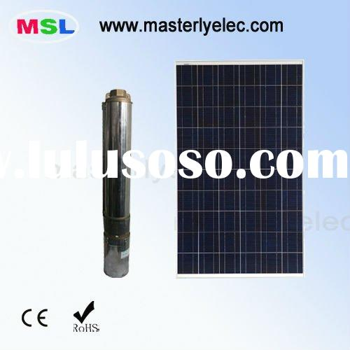 24V 210W Solar Powered Submersible Water Pumps