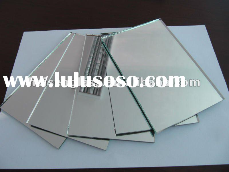 2mm--6mm aluminum mirror for bathroom,building,furniture and cabinet