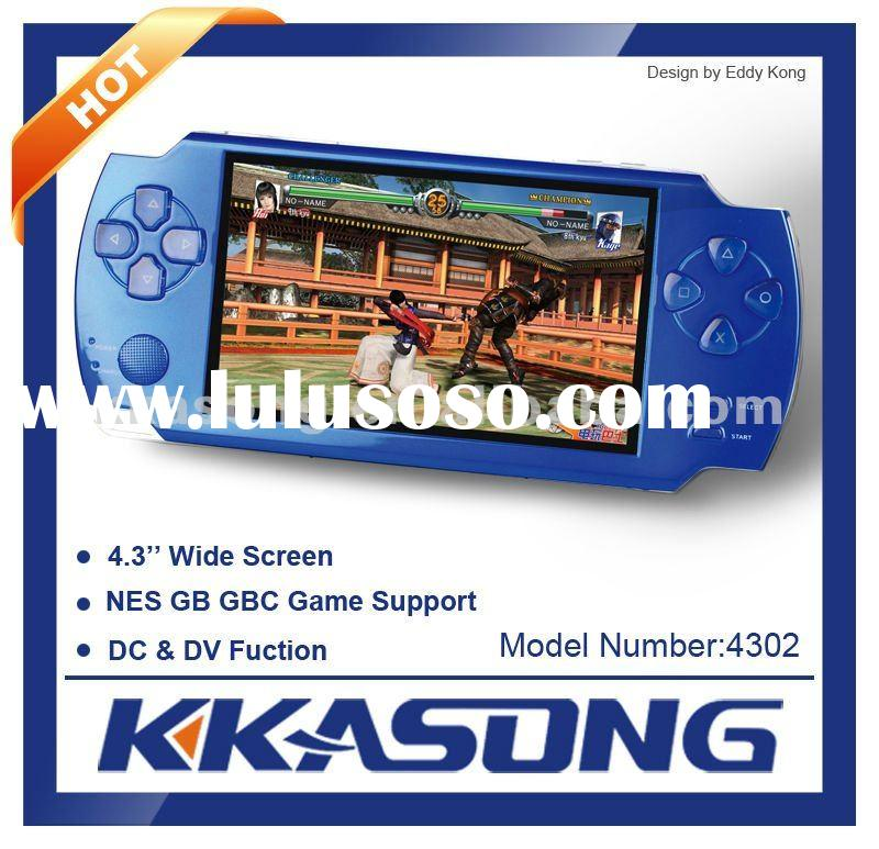 4G Flash MP4 Player With 4.3inch Wide Screen