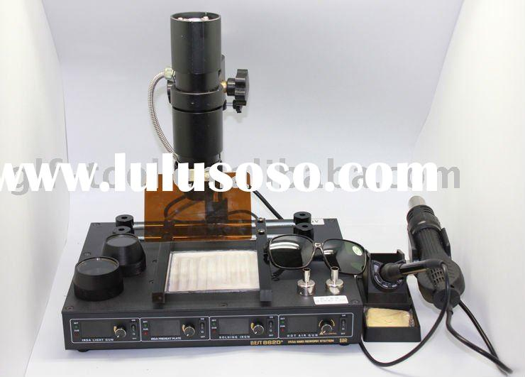 4 IN 1 BEST- T862D+IRDA SMD rework station -infrared BGA rework station-infrared welding system