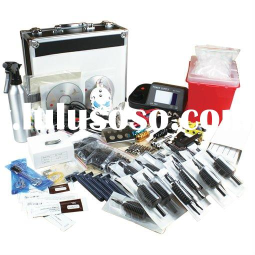 4 machines tattoo kit,Professional tattoo kit