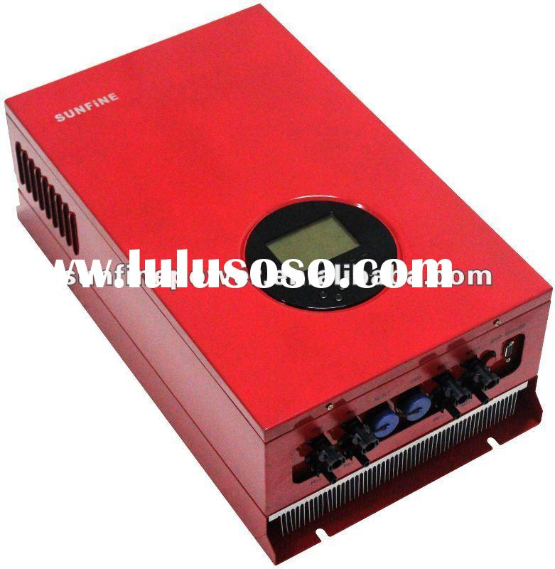 5KW on/off grid auto switch solar Inverter IP65 with MPPT controller and battery charger