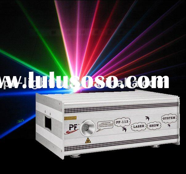 5W RGB Full Color Outdoor Laser Light, Stage lighting