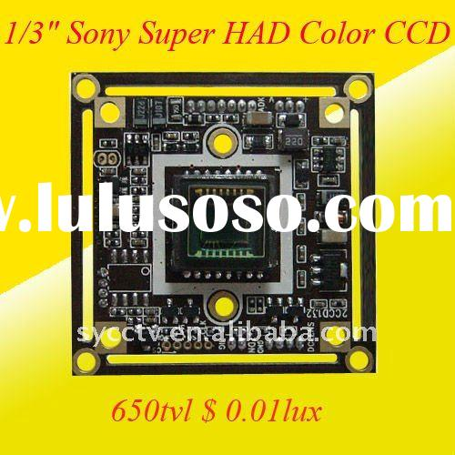 650TVL High Quality RJ10 DSP Color CCD Camera Board