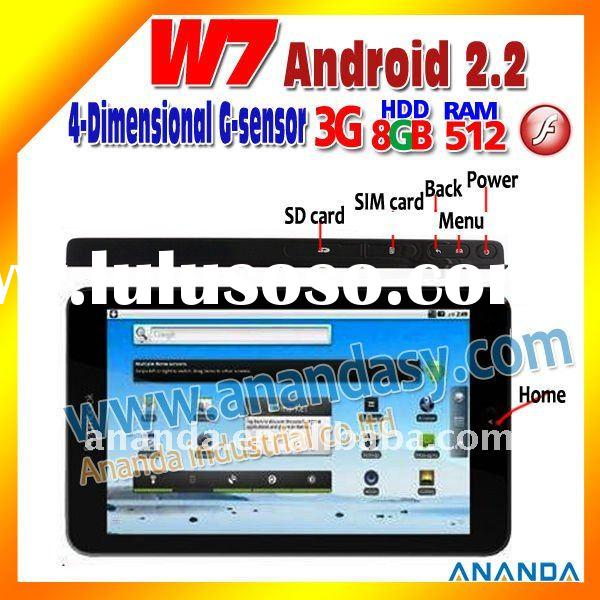 7 inch Android 3G GSM GPS Tablet PC W7