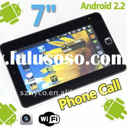 7 inch GSM phone call android 2.2 tablet pc android 3g
