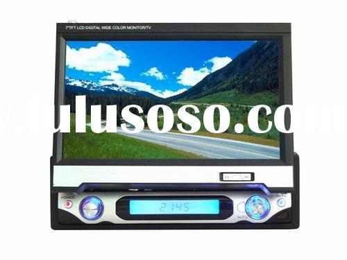 7 inch In-dash Single Din Car Monitor/TV