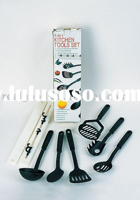 7pcs Nylon Kitchen Tool Set Model: 17946