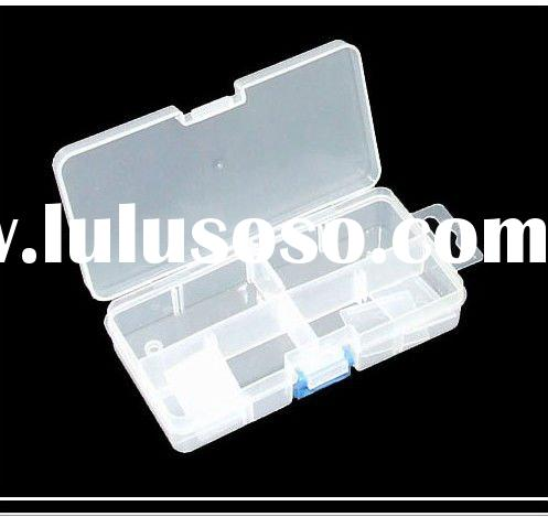 8 Compartment Portable Plastic Tool Case Storage Box small size