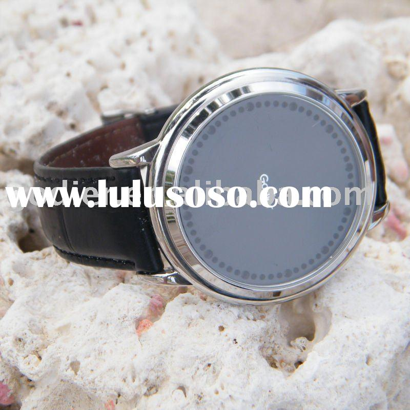 ALLOY WATCH Uhren Touch screen LED wrist watch stainless steel case