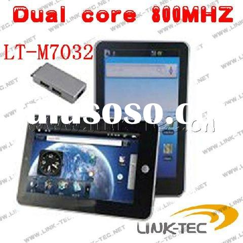 Android 2.2 Dual core 800MHZ mini laptop touch screen M7032