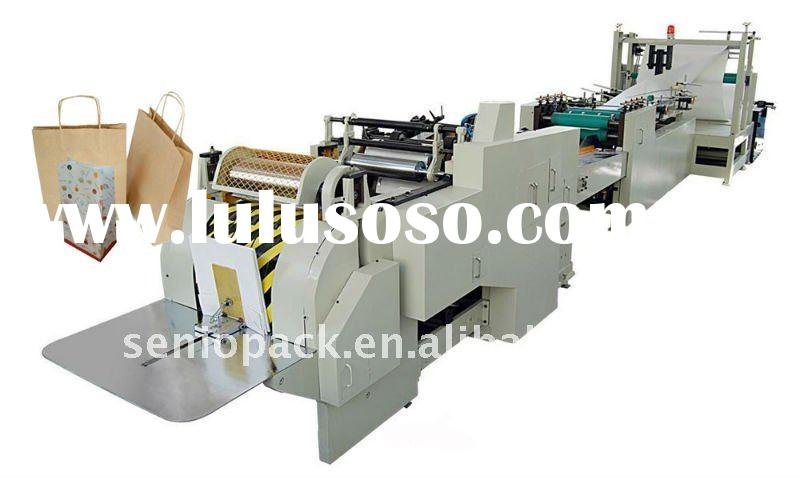 Automatic high speed gift paper bag making machine