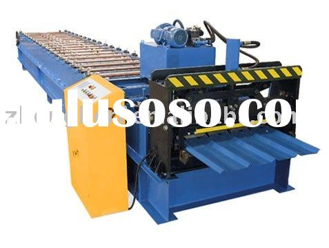 Automatic metal steel roof tile cold roll forming machine