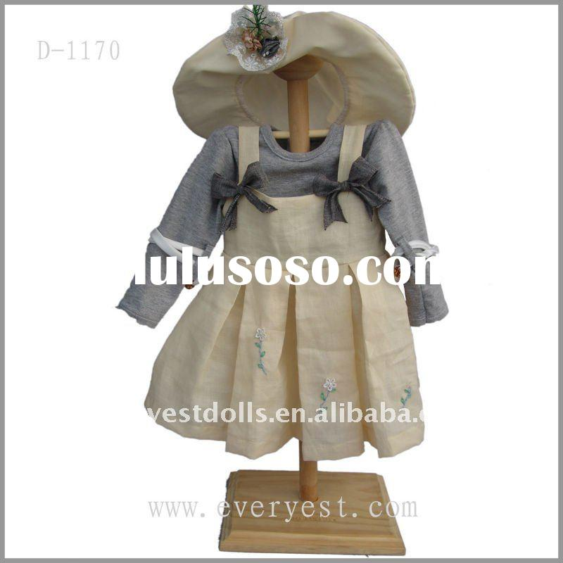 Beautiful and fashion design big size doll clothes