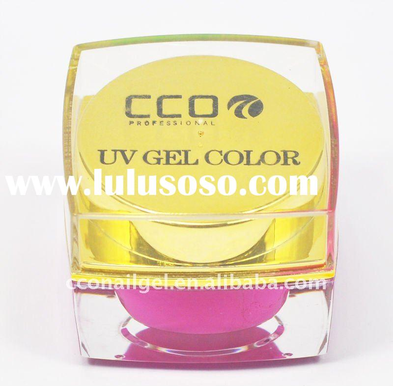 CCO soak-off UV nail color lacquer