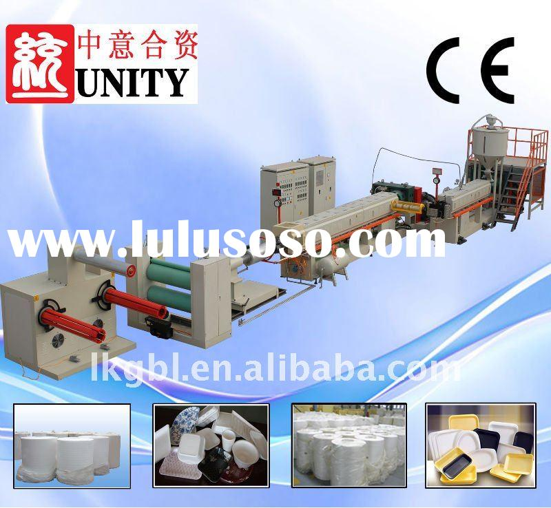 CE APPROVED EPS Foam Sheet Extrusion Machine Line (PSP-100/130)