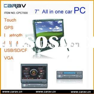 "Car PC,MINI Car PC,Car Vedio-one Din 7"" touch screen monitor one DIN Car PC With Bluetooth ,GPS"