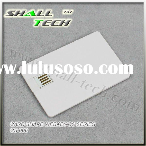 Car Promotion Gift, Card Shape Webkey, Web Card, Usb Web Key, Brochure Webkey (CS-006)
