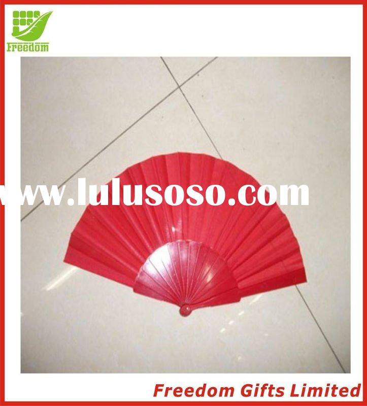 Cheapest Price Top Quality Logo Printed Plastic Fan,Hand Fan,Harisen