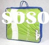 Clear PVC plastic quilt bag with hanger