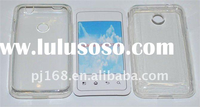 Crystal TPU Cell Phone Case For LG Optimus Chic/E720