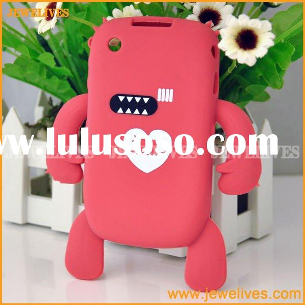 Cute Silicone Case for Blackberry 8520