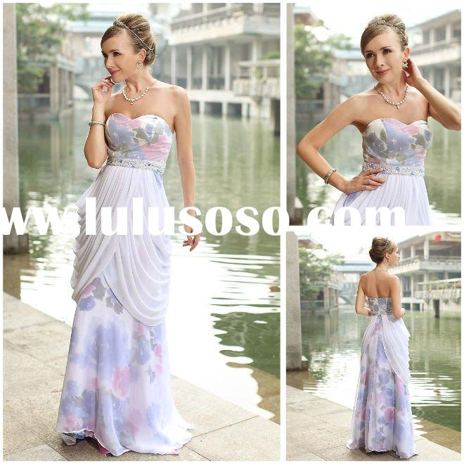 Doris top sale Charming elegent women's evening dress made in china No30290