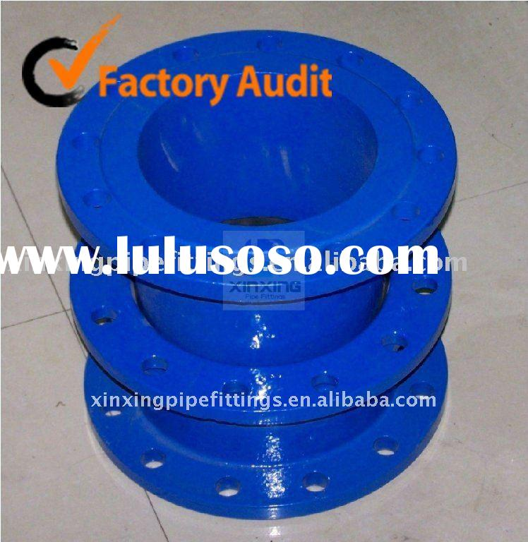 Double Flanged Pipe With Puddle Flange