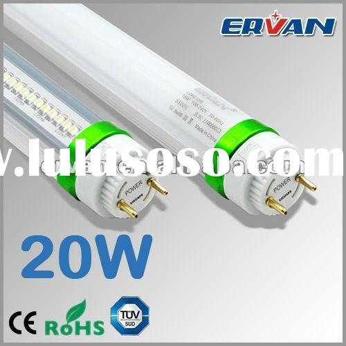 ERVAN UL Approved SMD Patent 1200mm LED Tube Parts with Double sided LED Emitting