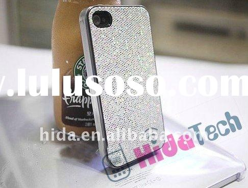 For iPhone 4 4G Hard Bling Case, Free Shipping Glitter Bling Shining Hard Back Case For iPhone 4G 4,