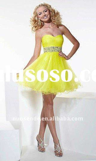 Free Shipping Couture Party Dresses Customized Party Favors Cute Cheap Party Dresses