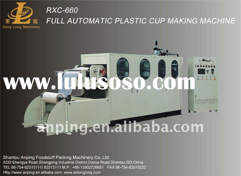 Full Automatic Plastic Cup Forming Machine