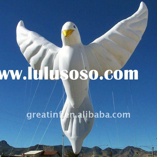 Giant Inflatable Dove Parade Balloons Helium Balloons