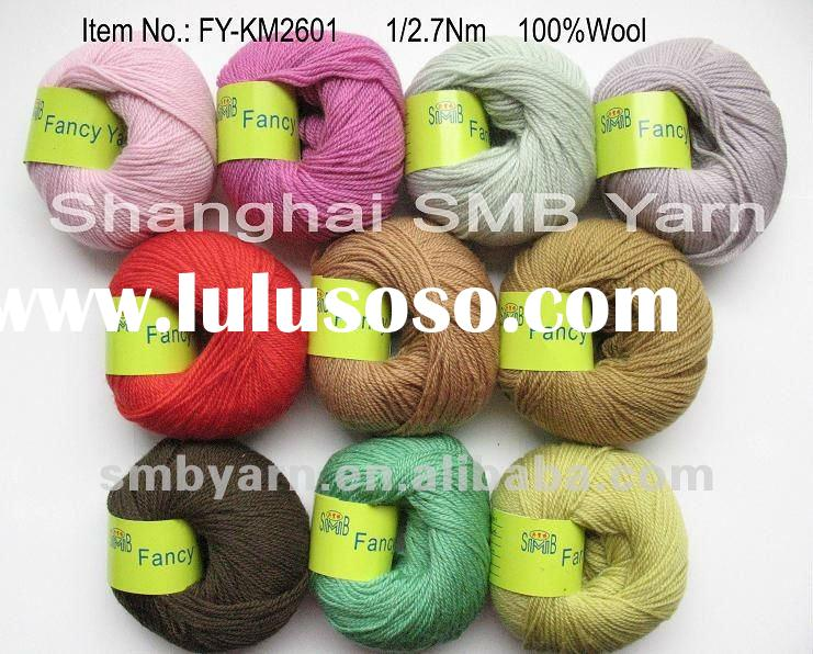 High Quality Shrinkproof, Wool Yarn for hand knitting FY-KM2601