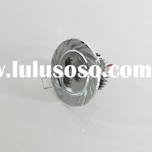 High-efficient 3w adjustable led downlight