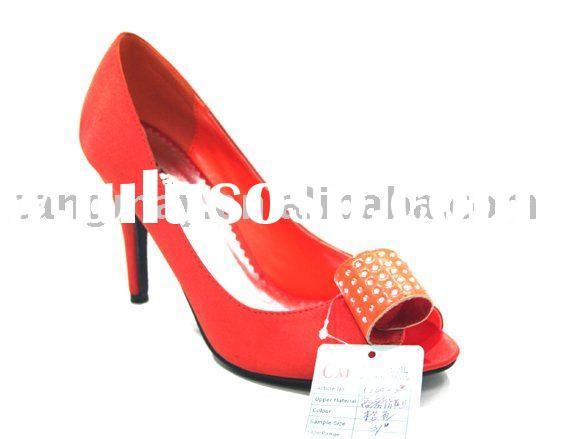 High heel lady shoes