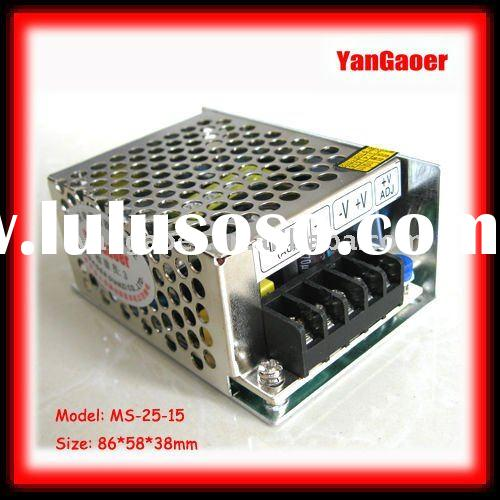 Industrial SMPS mini-size power supply MS-15-12 120*46*32mm