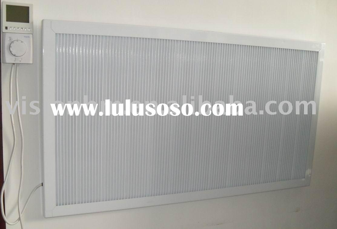 Infrared carbon fiber heating panels (wall mounted)