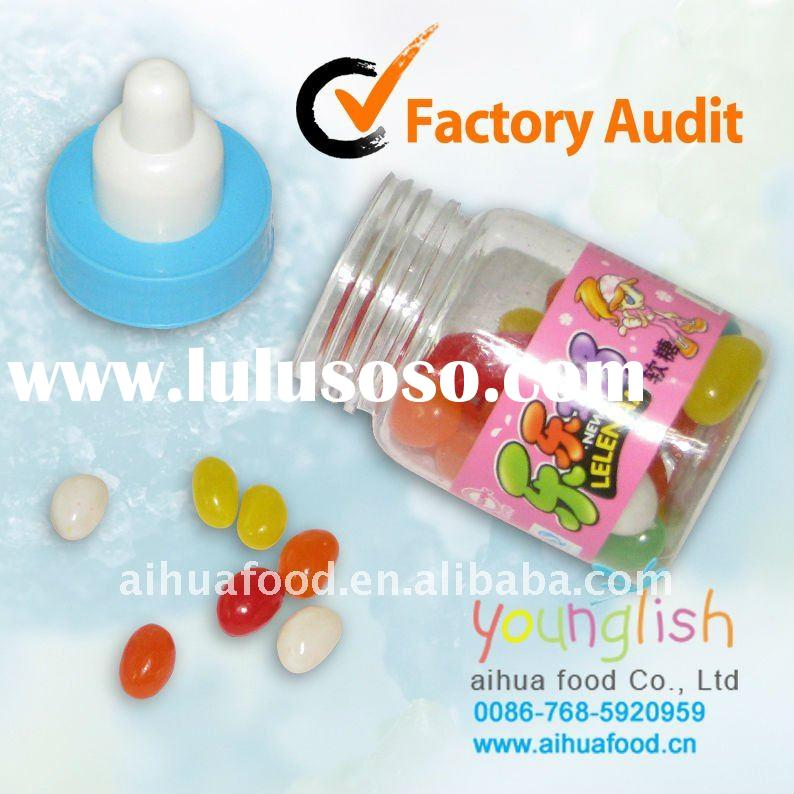 Jelly Beans Fruit Confectionary and Soft Candy