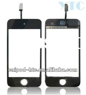 LCD Touch Screen Digitizer Glass For ipod 4