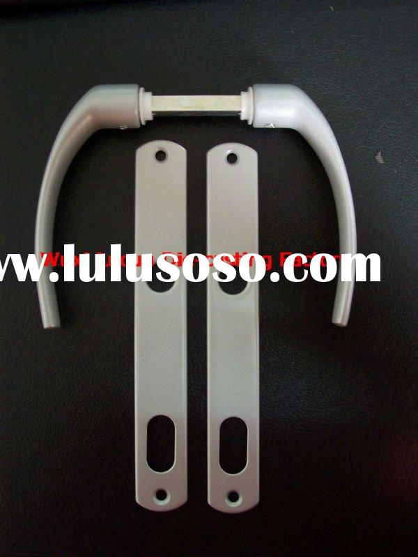 LC - Brazil Handle 1 Aluminium Lever Handle on Iron Plate