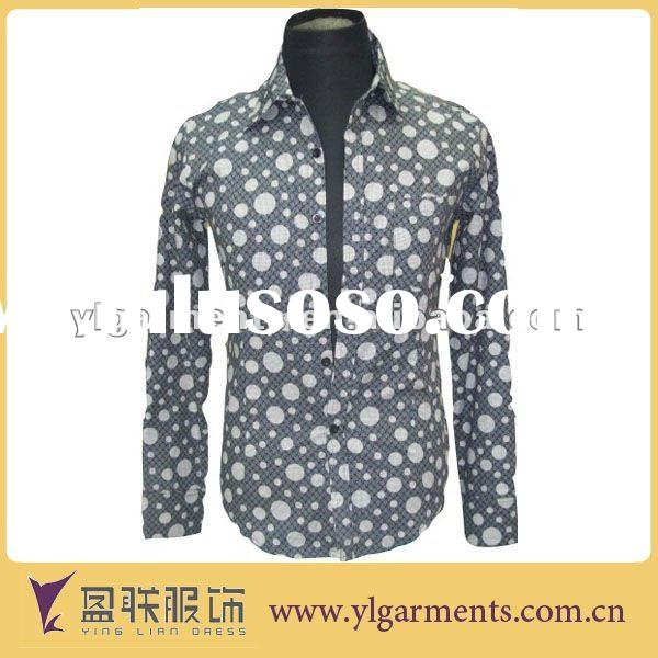 Latest style men branded formal shirts