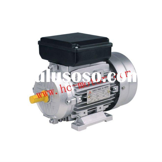 Yl90l 2 single phase dual capacitor asynchronous motor for for Single phase motor price