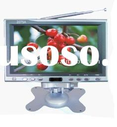 Mini 7 inches color desk model LCD TV monitor