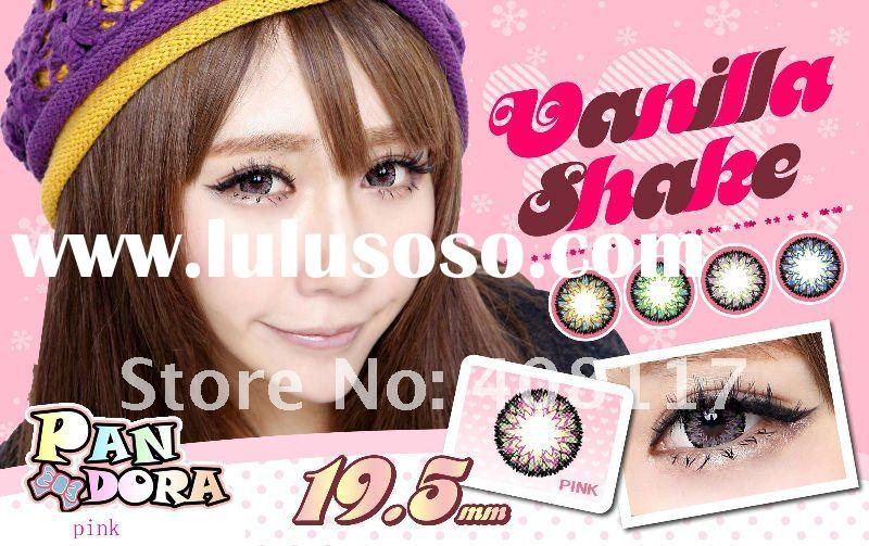 NEW arrival 4tone /big size /19.5mm fasional/hot-sale/color contact lens/contact lenses/
