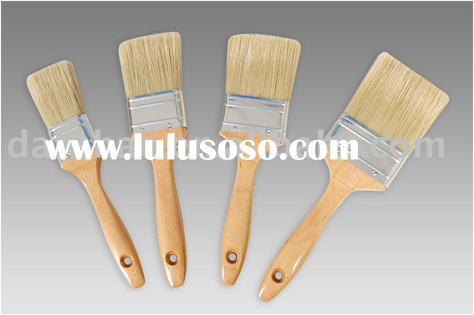 Natural Bristle Paint Brush Set