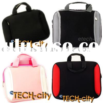 Neoprene Portable Case Bag with Zipper Pockets for 8.9 10-inch UMPC and Netbook