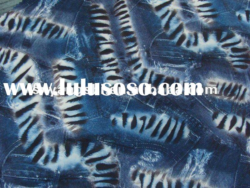 New design lycra printed stretch fabric